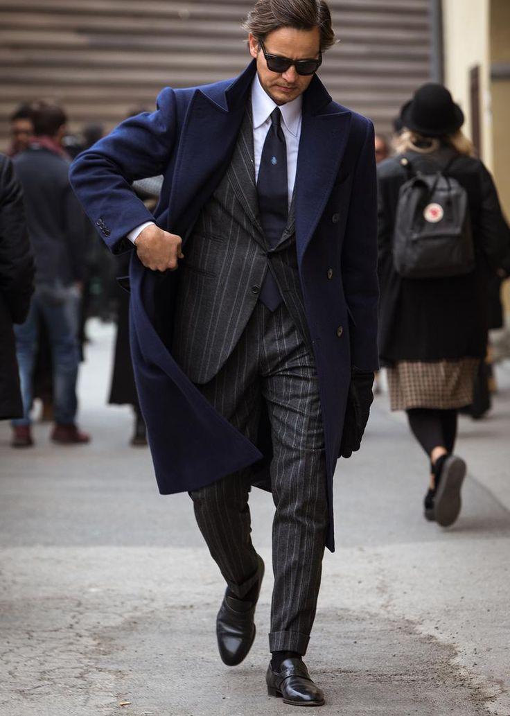 ビジネスマン必見! グレースーツが最も引立つ、着こなしのコツとは?   ファッションスナップ(メンズ)   LEON.JP