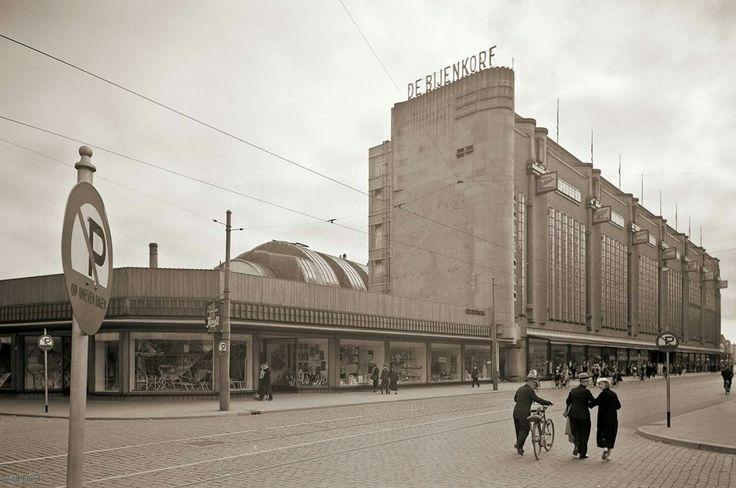 Den Haag, Grote marktstraat 1935.