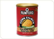 Rumford Corn Starch.  Made from non-genetically modified corn.