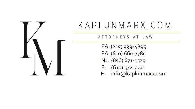 KaplunMarx - Bala Cynwyd, PA, United States. Top Philadelphia Personal Injury Lawyers