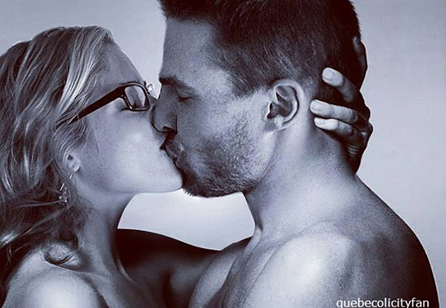 I miss them  #olicity #stephenamell #felicitysmoak #stephenamell #emilybettrickards #arrow #arrowcw