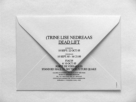 Event10's website - Trine Lise Nedreaas (Dead Lift),Invitation