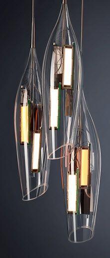 design pendant lamp (blown glass) TULIP liternity: Floor Lamps, Blown Glass Lighting, Feature Pendant Lighting, Grand Design, Lighting Pendants, Lamp Blown, For Lamps, Tulip Liternity