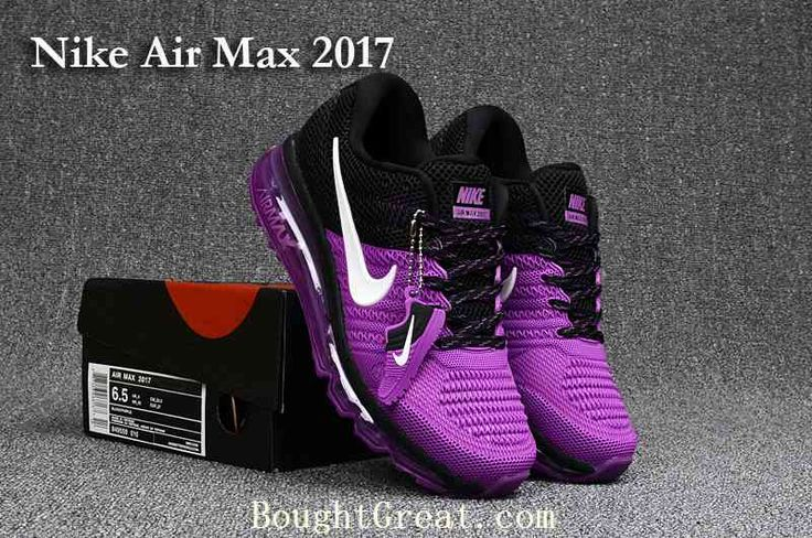New Nike Air Max 2017 Women Purple Black KPU Shoes