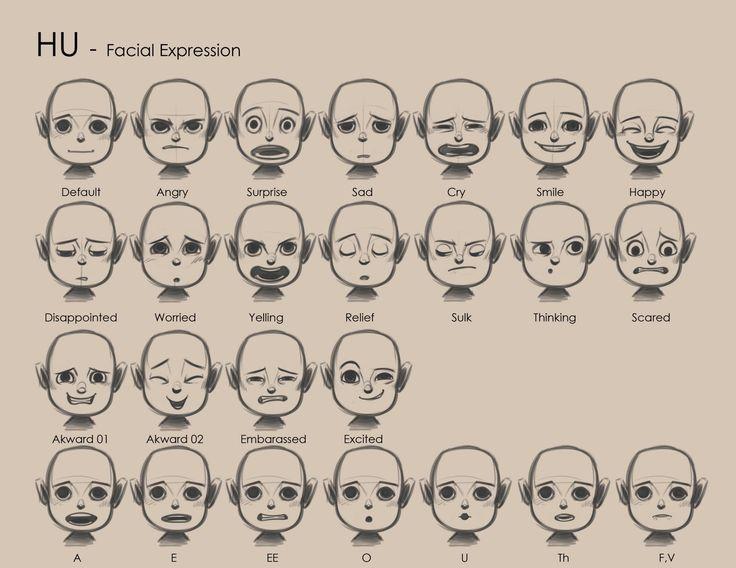 skimation.com: HU & Doy Facial Expressions