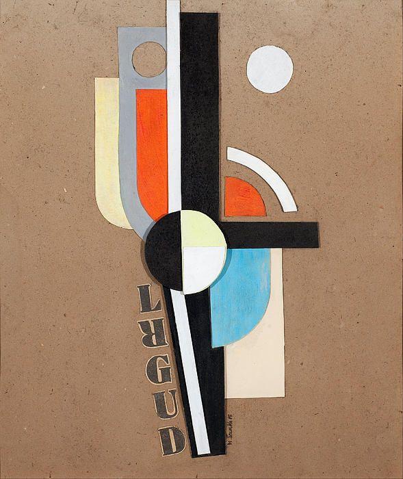 Untitled. Composition Lrgud  Mieczyslaw Szczuka