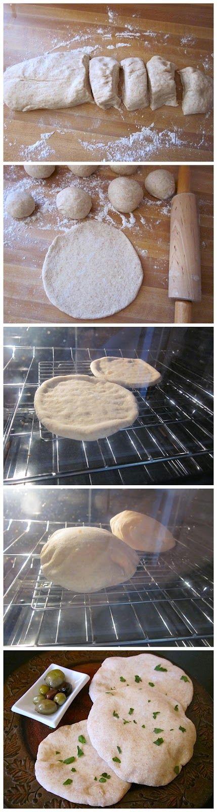 pita chlieb recept ~ Obľúbené