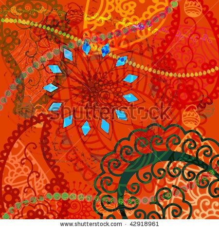 Google Image Result for http://image.shutterstock.com/display_pic_with_logo/234913/234913,1260939438,1/stock-photo-indian-art-inspired-abstract-henna-background-42918961.jpg: Art Indian, Abstract Indian, Art Inspiration, Indian Artists, Bohemian Art, Art Schmart, Abstract Henna, Art Week, Art Projects