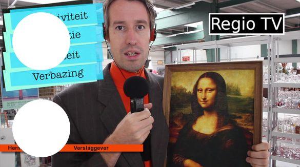 De Mona Lisa wordt over het algemeen beschouwd als een groot kunstwerk. Ondanks dat het niet veel groter is dan een A4'tje. Wat maakt een kunstwerk kunst? Verslaggever Herman van...