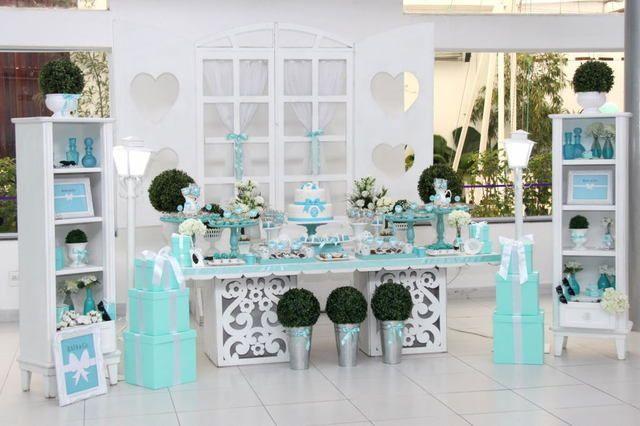 Ideias para Festa Azul Tiffany!