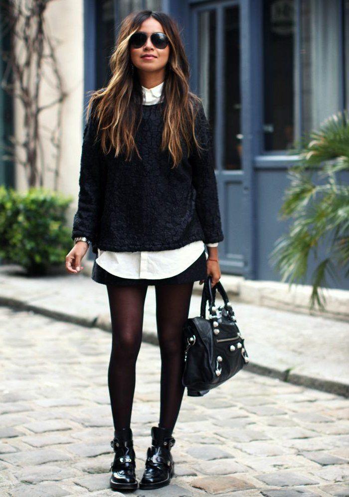 Quelles sont les tendances chez les bottes noires? 45 images!