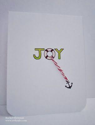 Joy card by rachel kleinman for newtons nook designs using seasons greetings