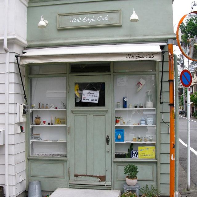 a cafe in tokyo