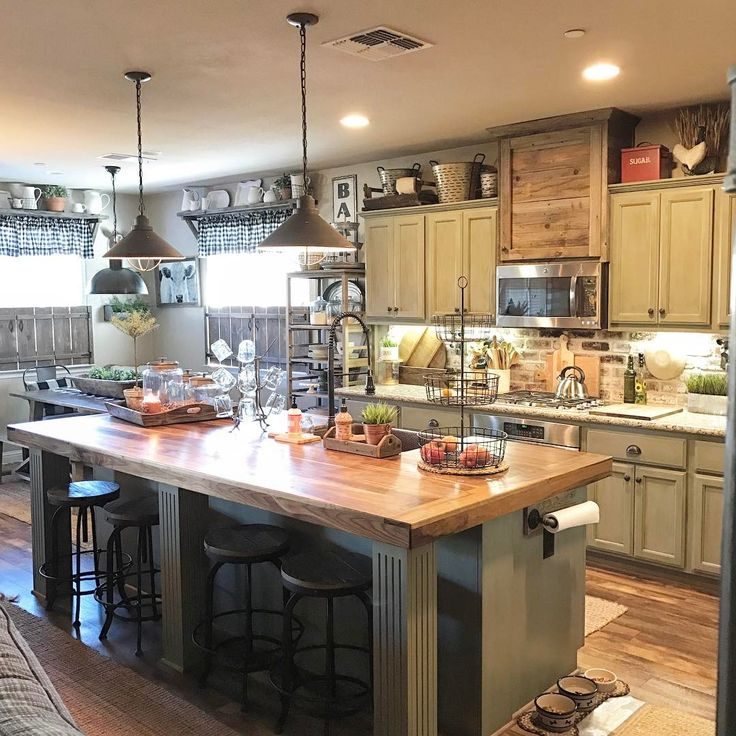 Country Kitchen Pictures 2019: Pin By Shanna Perkins On Farmhouse Kitchen In 2019