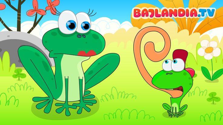 Była sobie żabka mała - piosenka dla dzieci - bajlandia.tv