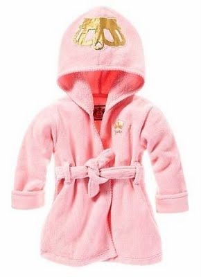 Now what baby needs a juicy robe... my future one obviously