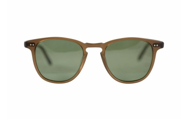 Garreth Leight -  Brooks Sun, Matte Espresso with G15 Polarized