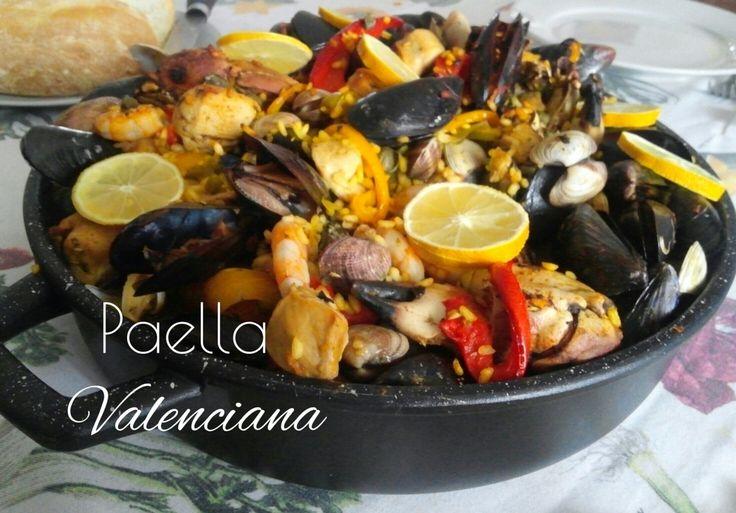 Paella mista valenciana - ricetta spagnola