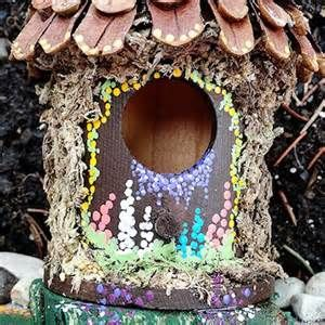 Diy fairy house ideas