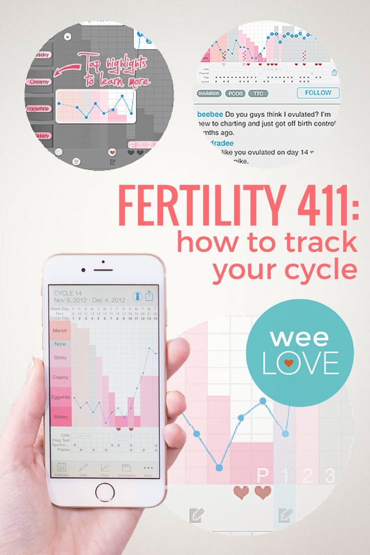 Fertility 411: how to track your cycle  | Want to get weeLove in your inbox? www.wee.co/weelove