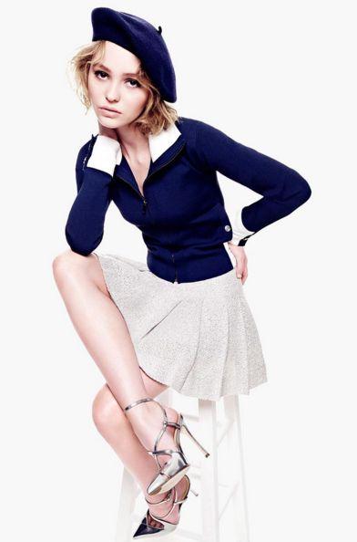 Après sa mère, Lily Rose Depp a été nommée égérie de Chanel n°5 ... L'eau * Chloé Fashion & Lifestyle