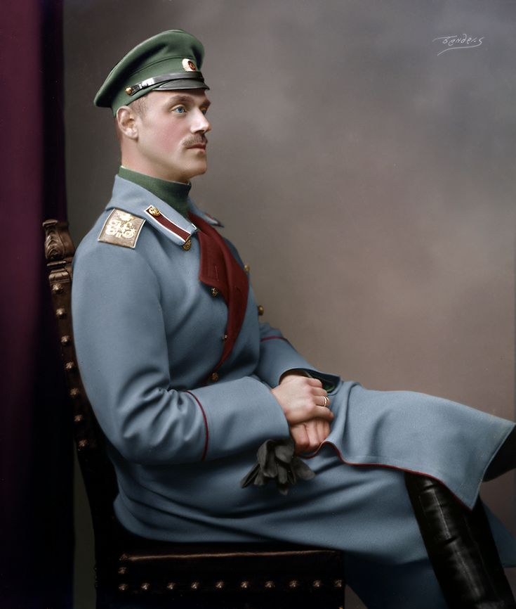 Grand Duke Michael Alexandrovich of Russia, 1914.