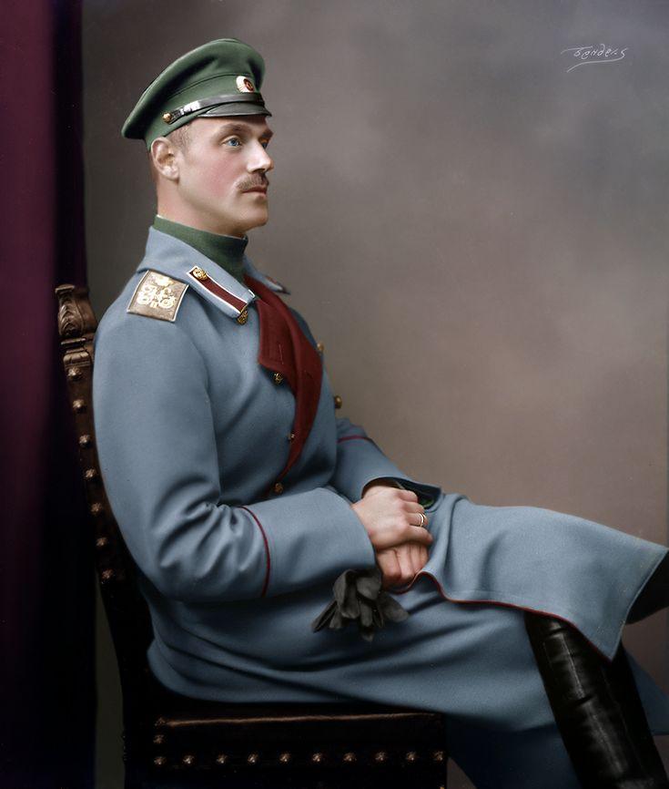 Grand Duke Michael Alexandrovich of Russia, 1914.