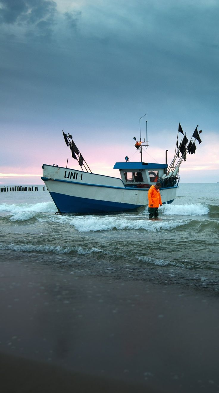 Fischerboot Ostsee
