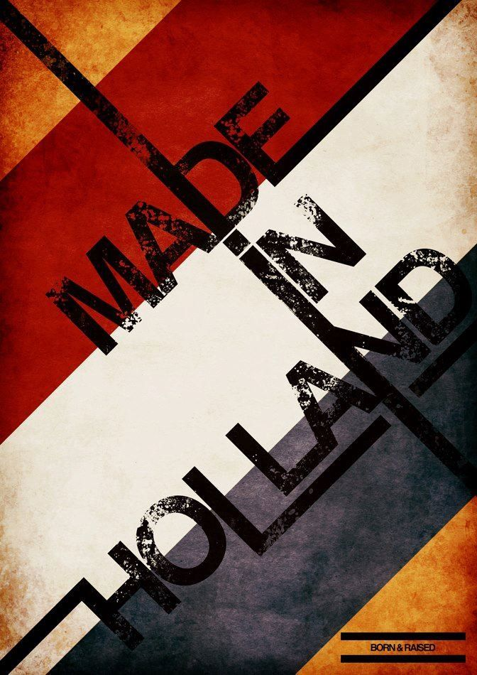 Made In Holland. #greetingsfromnl