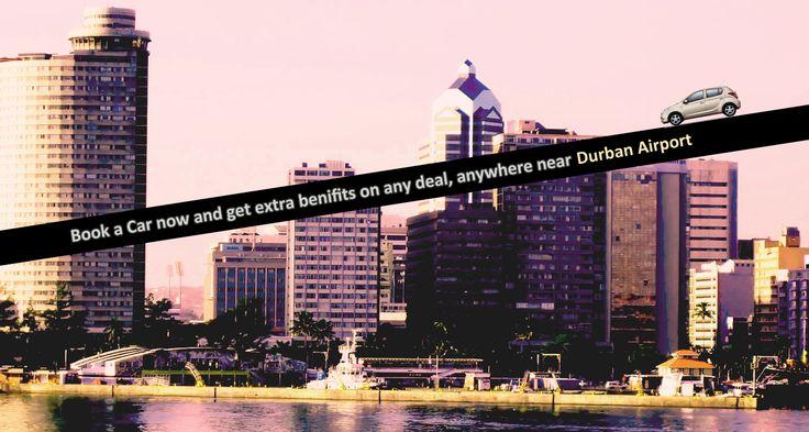 Low cost car rental deals at Durban airport. #Car_Hire_Durban