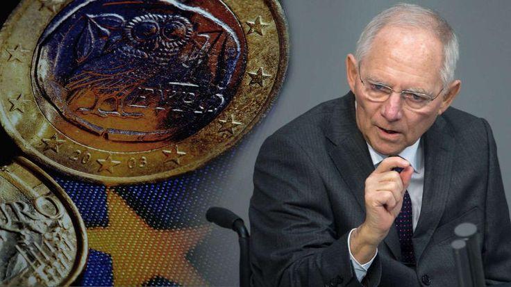 Kommt der Grexit? Schäuble warnt vor Griechen-Pleite  http://www.bild.de/politik/ausland/wolfgang-schaeuble/warnt-vor-griechen-pleite-40890350.bild.html