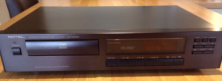 Rotel RCD-965BX CD Player in Sound & Vision, Home Audio & HiFi Separates, CD Players & Recorders | eBay