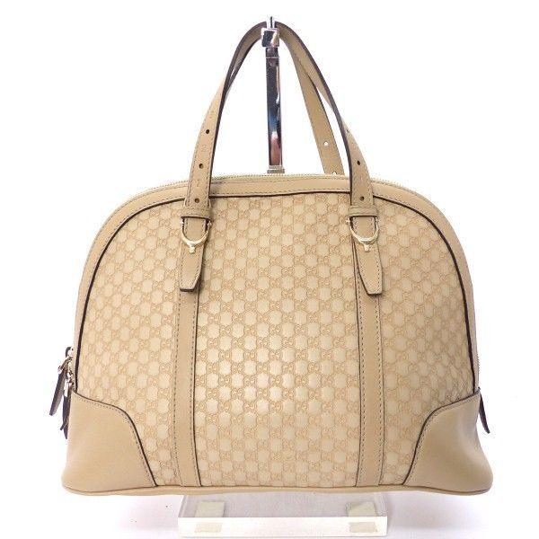 gucci leder schulter tasche bag beige guccissima luxus pur kp028 k what women want. Black Bedroom Furniture Sets. Home Design Ideas