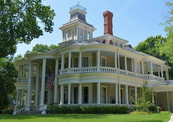 """~Historic """"Cartwright"""" House in Terrell, Texas built in 1883 - purchased by Tom and Nancy Aldridge and brought back to its original grandeur. Many of the original furnishings were still in the house when the Aldridge's purchased it~"""