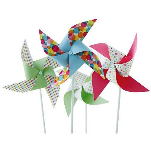 Martha Stewart Crafts Modern Festive Pinwheel Kit - for goody bag