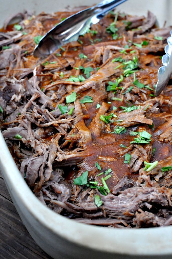 Paleo Crockpot BBQ Pulled Beef: a little something for my Paleo diet friends. Looks great for the rest of us too!