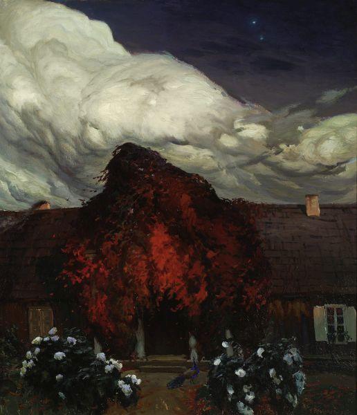 Stary dom - Ferdynand Ruszczyc