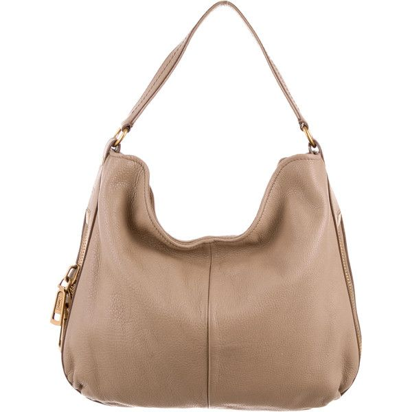 Pre-owned Yves Saint Laurent Textured Leather Hobo (1.070 BRL ...