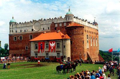 Golub-Dobrzyń - zamek golubski