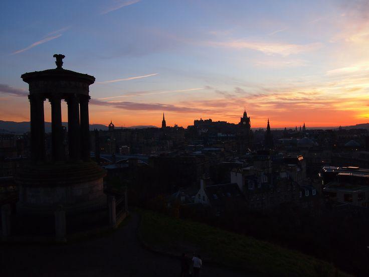 Edinburgh Sunset , March,2014