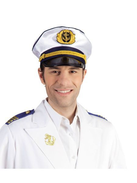 """https://11ter11ter.de/46746985.html Mütze """"Kapitän"""" verstellbar #11ter11ter #Fasching #Mottoparty #Party #Outfit #Kostüm #Mütze #Marine #maritim"""