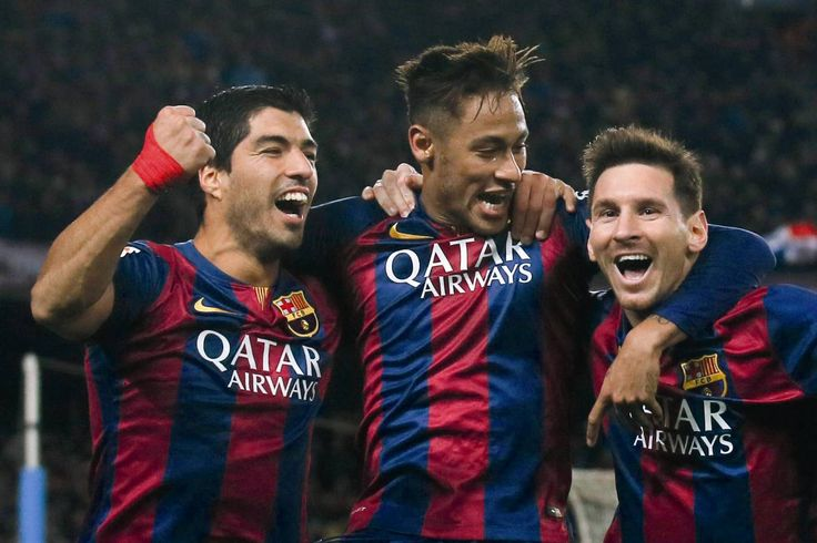 The story behind the famous photo of the Messi-Neymar-Suárez trident | FC Barcelona