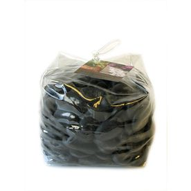 At Lowes: AKASHA 5-lb Black Polished Stones to paint on! $5.48