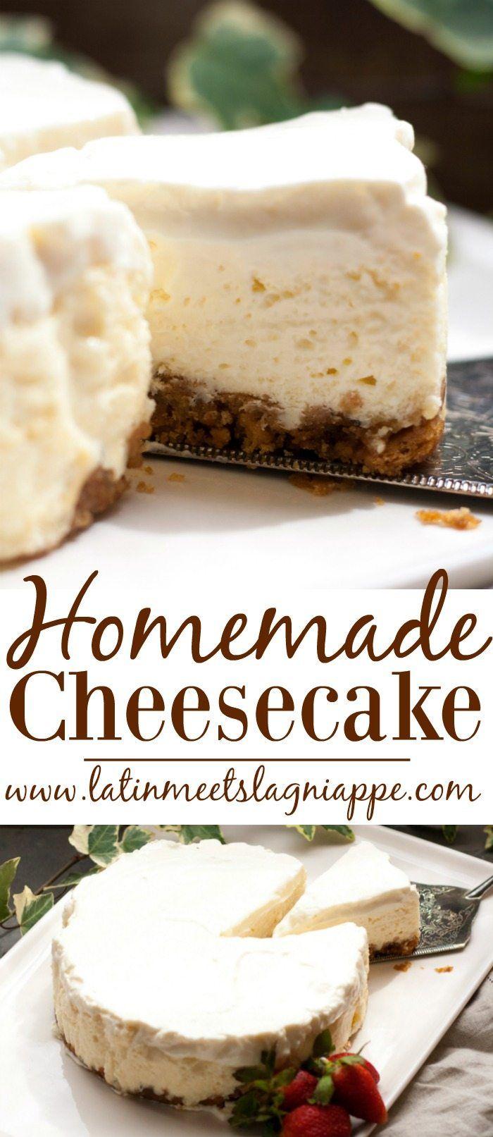 Easy Homemade Cheesecake Recipe