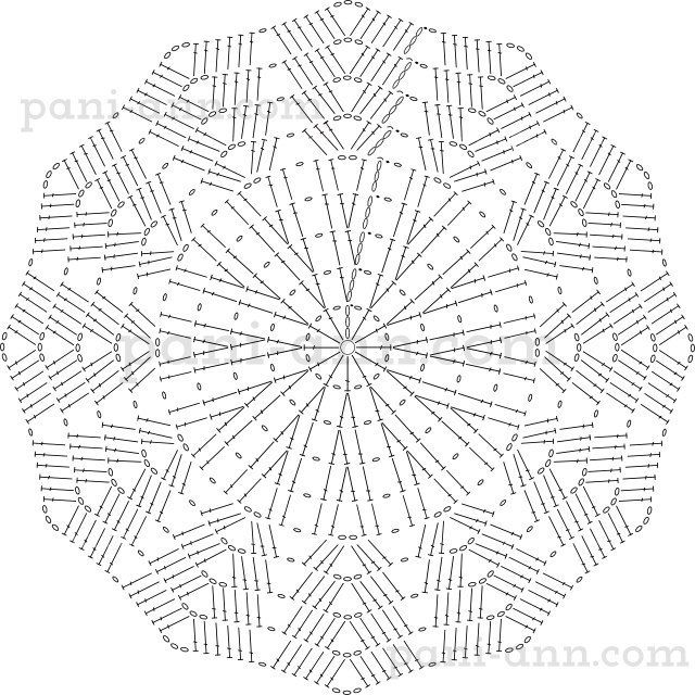 25  unique crochet doily diagram ideas on pinterest