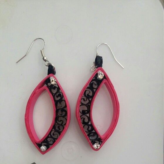 quilled earring