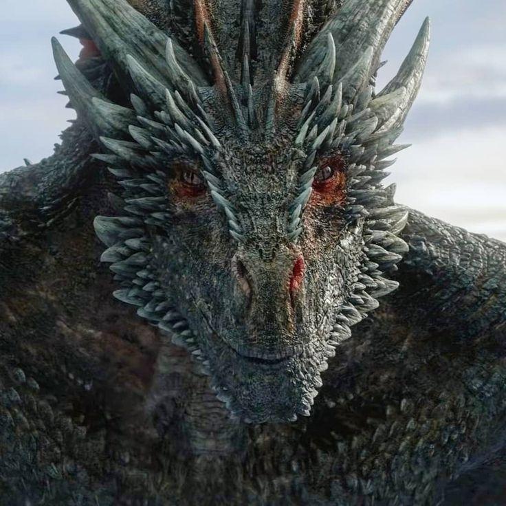 "King Jon Snow on Instagram: ""Drogon really doesn't like"