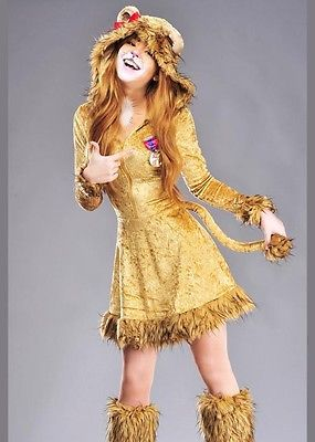 Womens #cowardly lion #style lioness #costume,  View more on the LINK: 	http://www.zeppy.io/product/gb/2/192056154034/