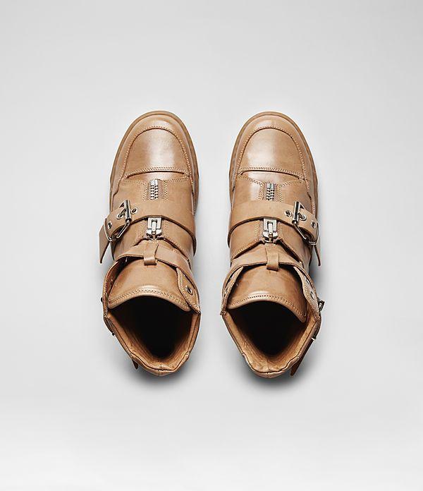 Womens K80 Sneaker (Tan)   ALLSAINTS.com