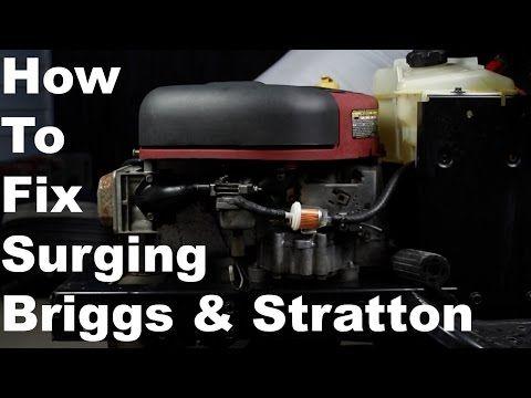 How To Fix Briggs & Stratton Surging Engine | Nikki